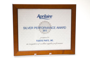 Aprilaire Silver Performance Award