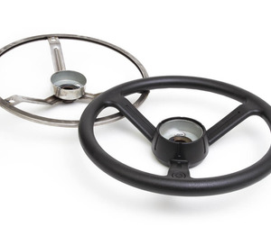Steering Wheel frame and overmold
